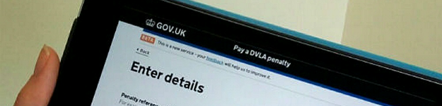 DVLA online fine paying service has been enhanced