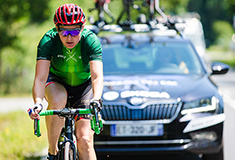 Sarah Storey and SKODA launch DSI Cycling Academy