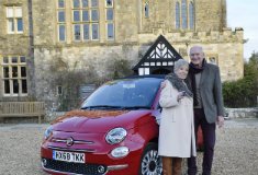FIAT 500C prize for National Motor Museum visitor