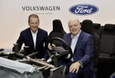 Ford and Volkswagen expand their global alliance