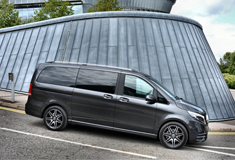 Mercedes-Benz V-Class Scoops Top Prize