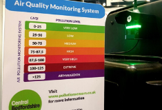 Air Pollution Monitoring Project Launches In Bedfordshire
