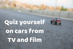 QUIZ: How many cars from TV and film can you remember?