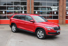 ŠKODA supplies Kodiaqs to Warwickshire Fire & Rescue Service