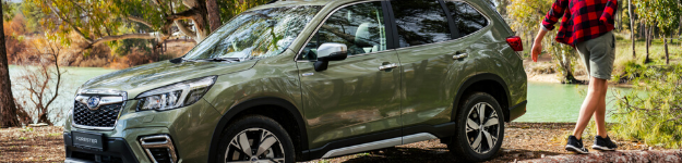 Subaru Forester e-BOXER Named Best Small SUV Of The Year