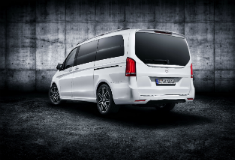 The new Mercedes V-Class is even more attractive