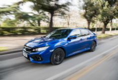 Efficient nine-speed automatic added to Honda Civic range