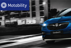Vauxhall Motors in partnership with the Motability Scheme