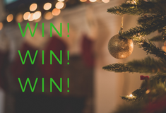 Enter to WIN 1 of 12 prizes in our Christmas comp!