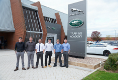 Jaguar Land Rover are training armed forces personnel