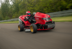 How fast can Honda's Mean Mower go? You might be surprised