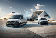 Drive style monitoring software added to Mercedes-Benz Vans