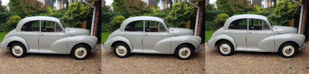 Mint African Morris Minor 70 Years Young