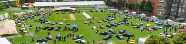 Classic Sports Cars At The London Concours