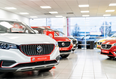 MG Reaches Landmark 100th UK Dealership Store with Stoneacre