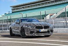 BMW M8 is en route to production