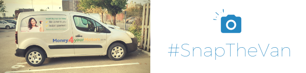 Win a £50 Amazon voucher in our #SnapTheVan competition