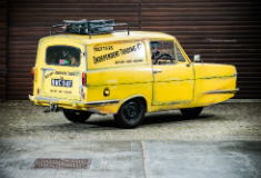 Del Boy's Reliant on sale at NEC Motorshow