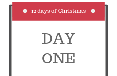 12 Days of Christmas 2018 - Day 1 - Enter our competition