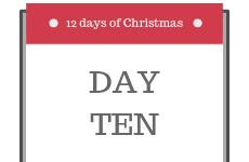 12 Days of Christmas 2018 - Day 10 - Enter our competition