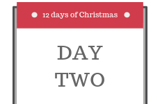 12 Days of Christmas 2018 - Day 2 - Enter our competition