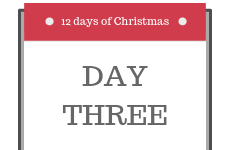 12 Days of Christmas 2018 - Day 3 - Enter our competition