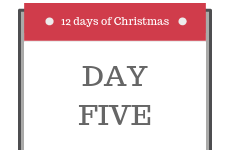 12 Days of Christmas 2018 - Day 5 - Enter our competition