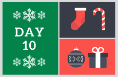 12 Days of Christmas 2019 - Day 10 - Enter our competition