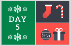 12 Days of Christmas 2019 - Day 5 - Enter our competition