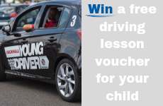Win a Young Driver driving lesson