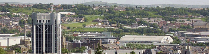 Blackburn skyline