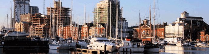 Ipswich docks by Bob Jones