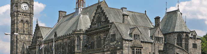 Rochdale Town Hall by Tim Green