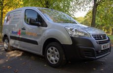 Money4yourMotors.com: All our car buyers arrive in branded vans